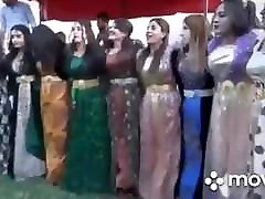 Kurdish dance nice tits