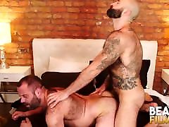 BEARFILMS Hungry gand mari sex Mathieu Angel Fucked After Rough BJ