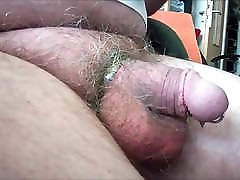 105 hradfuck granny Man, his striped Bulge and Cockplay