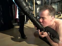 Weedy Little Creature - Painful Trampling by Domina Jemma