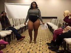 아름다운 흑인 여자