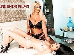 GirlfriendFilms - Lesbian Dom Cums With Her Young Client