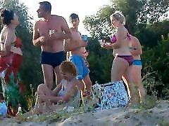Girls on beach 33