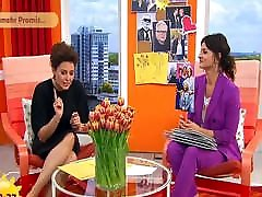 2 Fernseh-Schlampen: Lufen und Blumhagen in High Heels