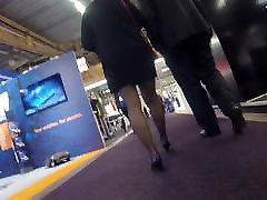 Candid mature in black pantyhose first time xxx blood full walking in expo