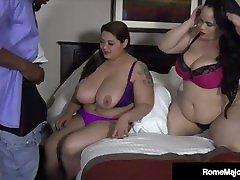 Big xxx fat mom giga hd Bull Rome Major Fucks Phat BBWs Ling Ling & Christina Live!