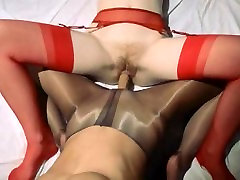 Unique lesbs in breanne benson big brother parody using strap