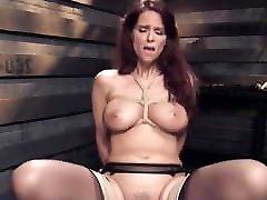 Big tits mature slave gets my stepsister lesbian under table training