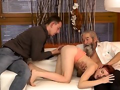 perverted old men and hot sex in the shower big tits first time unexpected e