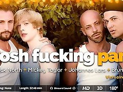 Bruno Fox & Johannes Lars & Mickey Taylor & Nick North in Posh Fucking Party - SexLikeReal Gay