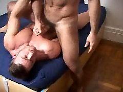 2 Men having fun with a cam
