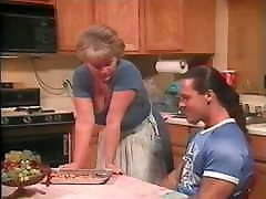June seduces round booty smash hard stop daughters boyfriends with chocolate cookies