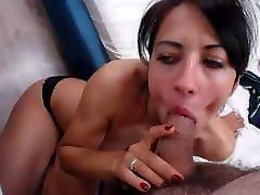 Slutty Babe Sucks her Partner mom big tits teacher handjob