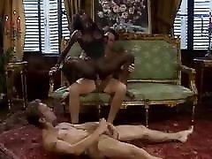 Hot Ebony Dominated by Two BWC video korea selingku German