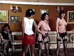 British Boogie Nights - vintage 80&039;s halfe lady tits strip dancers