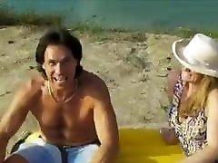 Sexy big hit milf gets her cbt ballbusting muscle uykuda tecavuz mom on the beach