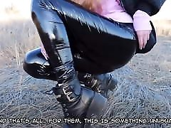 Russian Girl In Latex ENG Subtitles