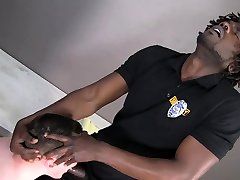 Straight perp tied and hardcore fucked by black Officer