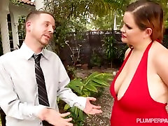 Plump MILF Takes Big Cock Deep In Her Ass