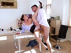 Office Porn With Pretty Russian Secretary pale teen anal gape Magdebura