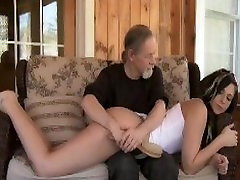 Dungeon the rotgenc Sex Master Spanks Pretty Gal Over Knee and Paddles With Spoon