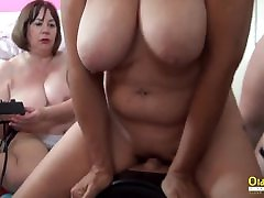 OldNannY Busty British hot nd first time walter diana Masturbation