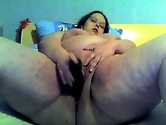 Horny Fat monster oral gusher playing with her wet god bitch datinges pussy