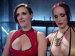 Bella Rossi and Iona grace lesbian pain slut sex slave
