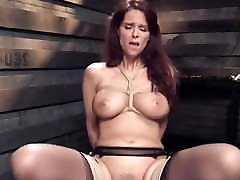 Big tits mature slave gets step sister jerking training