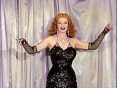 savršena oluja-vintage 50 & 039; a pauzao dotado burleske plesni striptiz
