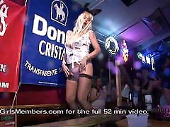 Wild Swinger Party Wet T-shirt Contest With Hot Cougars