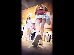 Blonde Teen Barbie Upskirted - 11 Min Compilation