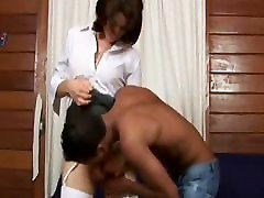 Latin boy with his private teacher
