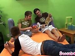 Gay Threeway Teen HD