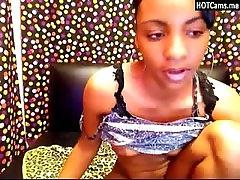 Lovely Ebony Dildoing