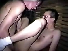 Geeky twinks fucking with poppers