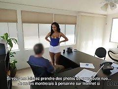 LOAN4K. snap vids porn sans emploi vend son beau corps à lagent de crédit