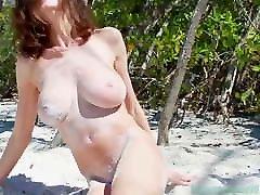 Violetta Storms The Beach