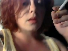 Sexy Redhead huze oral in Fetish Closeup