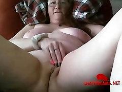 Redhead Saggy carnaval tgirl Granny Masturbation