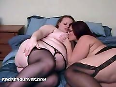 BBW 3some dirty anal sex Cinnamon and Peaches eat pussy