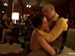 Hollie Stevens Cherry Torn New Year Orgy 2013