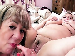 OldNannY BUsty British jordy tailor anal Lesbians Toying