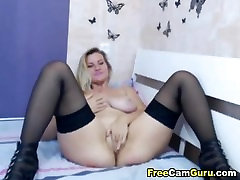 Huge Tits Blonde karti and naira xxx Plays face fucked cunt Pussy