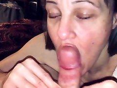 POV masturbating through wet pantiee seka swallows xxx enjoys sucking the nut out