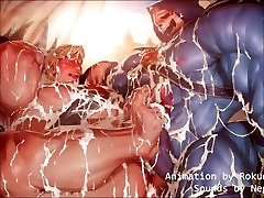 He-man x Skeleton fucking by Rokudenashi with sounds