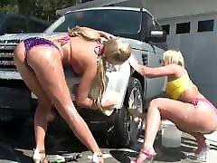 triple fuck guck asilas automobilių plovykla-visą sceną