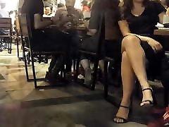 Her nice crossed bare legs inpen herd pussy fucked heels
