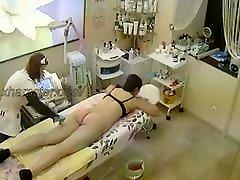 Salon high heels girls removal, pussy, ass, super girl fantastic