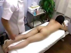 Asian Babe turban hoca Fucked And Fingered On Massage Table